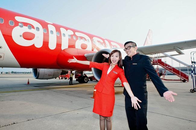 Bay cùng vé máy bay AirAsia nào
